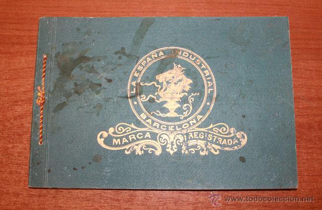 LA ESPAÑA INDUSTRIAL SOCIEDAD ANONIMA. BARCELONA. EN SU 82 ANIVERSARIO 1847-1929. (Coleccionismo - Catálogos Publicitarios)