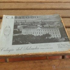 Catálogos publicitarios: CATALOGO COLEGIO DEL SALVADOR PADRES JESUITAS ZARAGOZA FOTOS DE LOS ESTUDIANTES CURSO 1954 1955. Lote 50021183