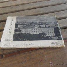 Catálogos publicitarios: CATALOGO COLEGIO DEL SALVADOR PADRES JESUITAS ZARAGOZA FOTOS DE LOS ESTUDIANTES CURSO 1958 1959. Lote 50021207