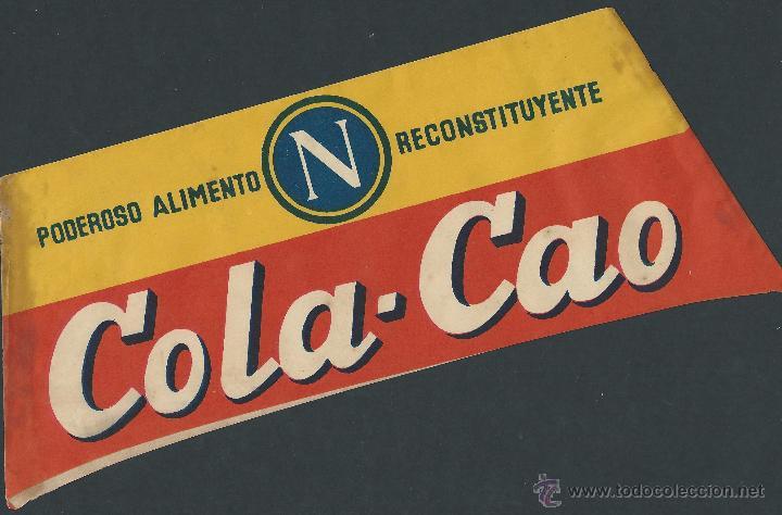 GORRO PUBLICIDAD COLACAO AÑOS 50 - 60 COLA CAO (Coleccionismo - Catálogos Publicitarios)