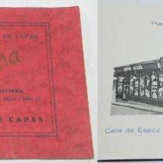 Catálogos publicitarios: CATALOGO DE PULICIDAD DE LA CASA SESEÑA, LA PRIMERA DE ESPAÑA EN CAPAS, SASTRERIA (CRUZ 30 Y ESPOZ Y. Lote 50283157