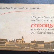 Catálogos publicitarios: ANTIGUO CATALOGO FOLLETO PUBLICIDAD DE 1962 DE CAVA CODORNIU SAN SADURNI DE NOYA. Lote 50389776