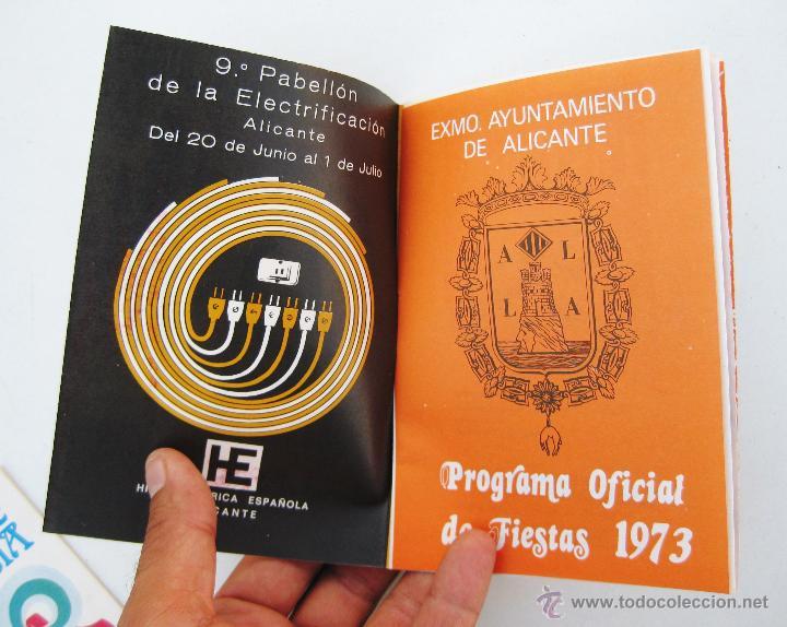 Catálogos publicitarios: PROGRAMA OFICIAL FIESTAS HOGUERAS SAN JUAN ALICANTE 1973 - Foto 2 - 50436652