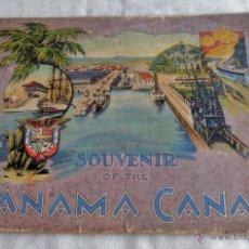 Catálogos publicitarios: CATALOGO DEL CANAL DE PANAMA, SOUVENIR OF THE , PANAMA CANAL. Lote 50535212