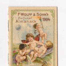 Catálogos publicitarios: ALMANAQUE 1904 / AMANACK F.WOLFF & SOHN'S PERFUMED. Lote 50579929