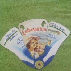 Catálogos publicitarios: CAFIASPIRINA DE BAYER / ABANICO . Lote 50606125
