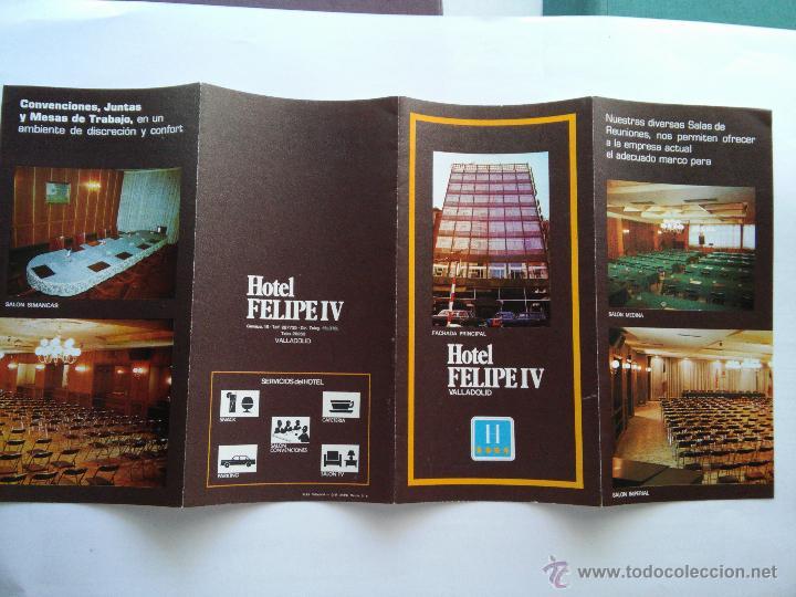 valladolid - triptico - hotel felipe iv - Kaufen Alte Werbekataloge ...