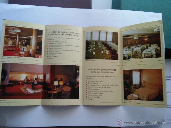 valladolid - triptico - hotel felipe iv - Comprar Catálogos ...