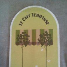 Catálogos publicitarios: DESJARDINS FRUITS DE MER CHOISIS / CARTE MENU / MONTREAL. Lote 50695846