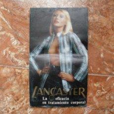 Catálogos publicitarios: DESPLEGABLE PUBLICITARIO-DÉCADA DE LOS 70 - LANCASTER PARIS - 16 X 28 CM (CERRADO) .... ZXY. Lote 50742658