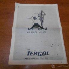 Catálogos publicitarios: PUBLICIDAD 1962: TERGAL. Lote 51043741