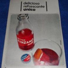 Catálogos publicitarios: CINZANO - RECORTE PUBLICITARIO. Lote 51096251
