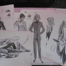 Catálogos publicitarios: CATALOGO MODA. LA CONFIANZA SASTRES DE BARCELONA.PRIMAVERA VERANO 1968.CON 10 LAMINAS.FIGURINES.. Lote 51370872