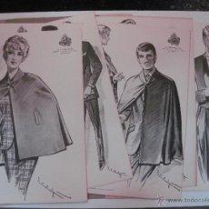 Catálogos publicitarios: CATALOGO MODA. LA CONFIANZA SASTRES DE BARCELONA.OTOÑO INVIERNO 1967.CON 9 LAMINAS.FIGURINES.. Lote 51371238