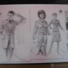Catálogos publicitarios: CATALOGO MODA. LA CONFIANZA SASTRES DE BARCELONA. PRIMAVERA VERANO 1971.CON 10 LAMINAS.FIGURINES.. Lote 51382997