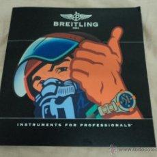 Catálogos publicitarios: PRECIOSO CATALOGO RELOJ BREITLING CON TARIFAS 2013 - 2014 CATALOGO COMPLETO. Lote 51392538