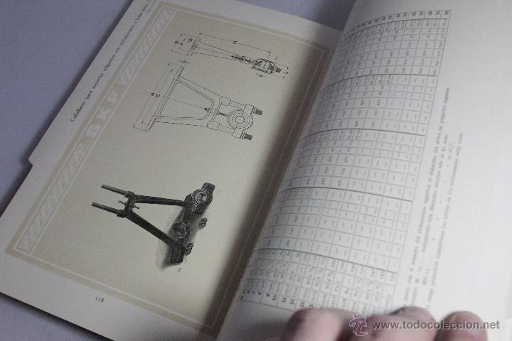 Catálogos publicitarios: skf, catálogo 1918, rodamientos a bolas, 138 paginas, impecable -doce- - Foto 2 - 51438611