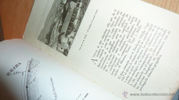Catálogos publicitarios: lote 2 antiguo catalogo publicitario alella vinicola . sindicato agricola vino alella marfil - Foto 2 - 56217559