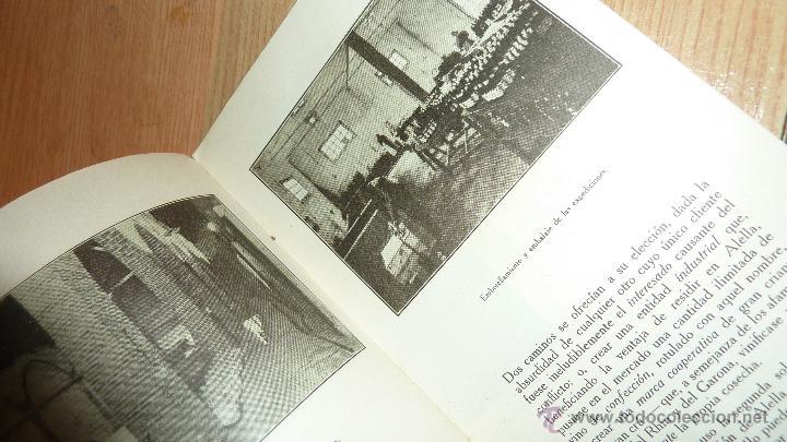Catálogos publicitarios: lote 2 antiguo catalogo publicitario alella vinicola . sindicato agricola vino alella marfil - Foto 3 - 56217559