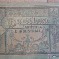 Catálogos publicitarios: BARCELONA ARTISTICA E INDUSTRIAL AÑO 1916, PUBLICIDAD. Lote 51596736