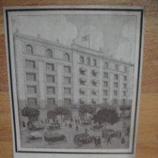 Catálogos publicitarios: VENTA DE OFICINAS , NUEVO EDIFICIO EN LA CALLE DIPUTACION Nº 239 DE BARCELONA - AÑO 1919. Lote 62310075