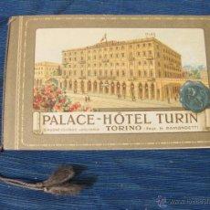 Catálogos publicitarios: FOLLETO PUBLICITARIO DEL HOTEL PALACE DE TURIN. TORINO. AÑOS 20. Lote 51701471