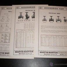 Catálogos publicitarios: 16 HOJAS PUBLICITARIAS DE MARTIN MARTEN. Lote 51891173