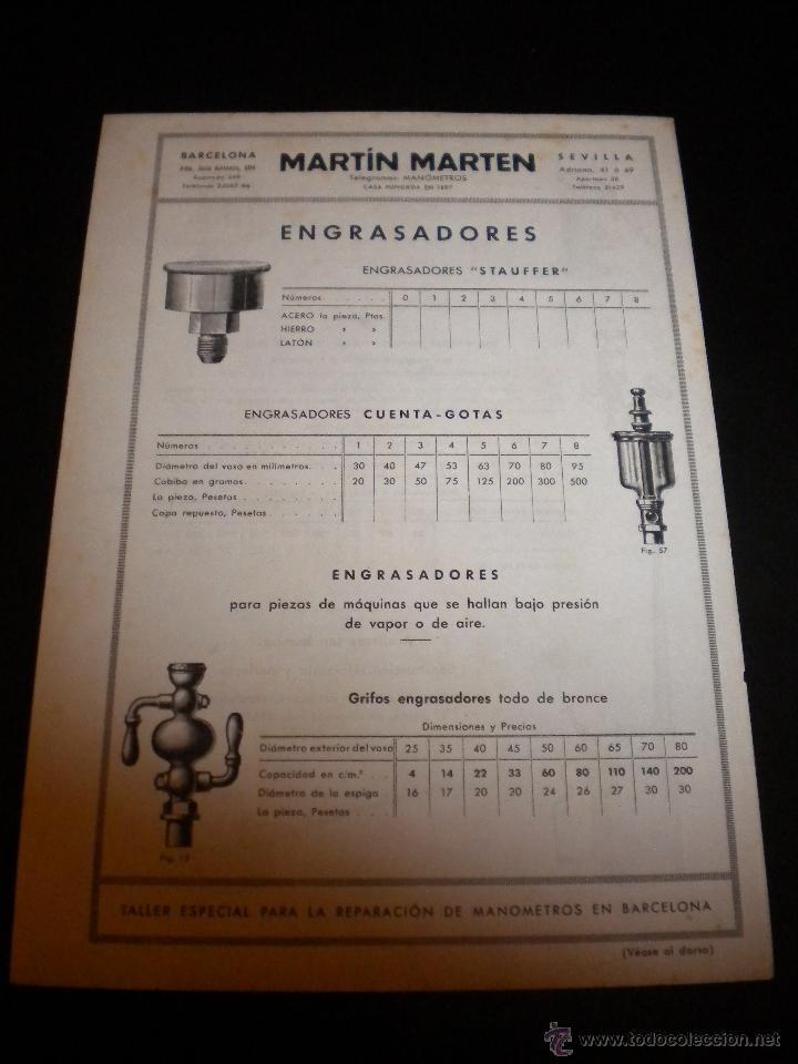 Catálogos publicitarios: 16 hojas publicitarias de Martin Marten - Foto 3 - 51891173