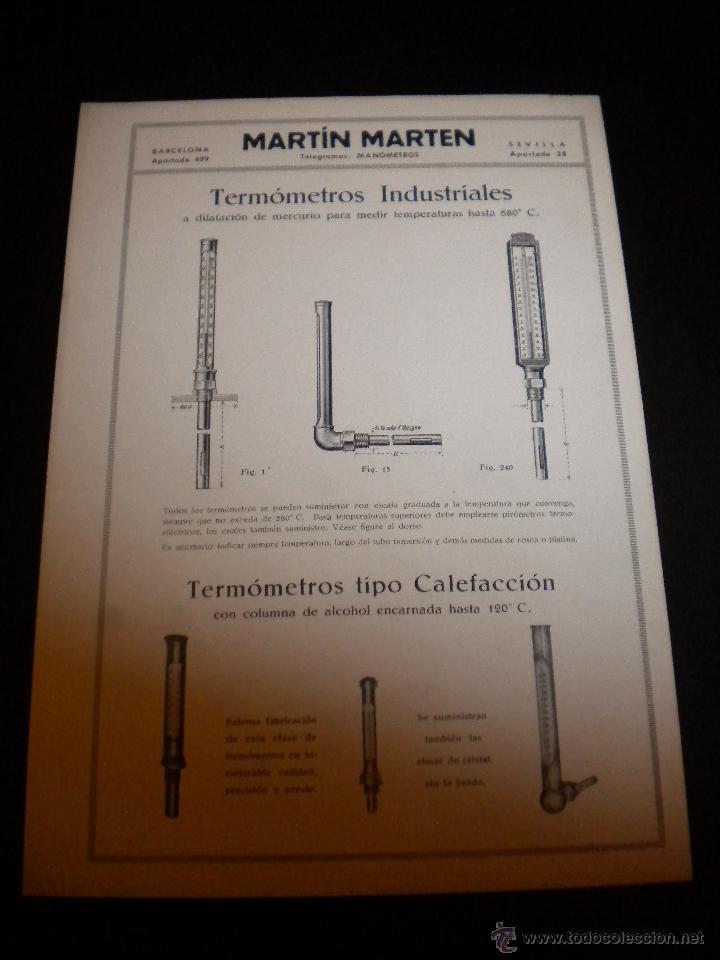 Catálogos publicitarios: 16 hojas publicitarias de Martin Marten - Foto 4 - 51891173