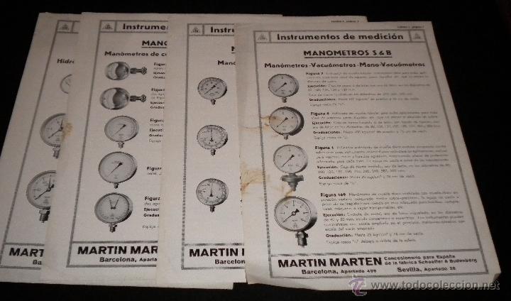 Catálogos publicitarios: 16 hojas publicitarias de Martin Marten - Foto 9 - 51891173