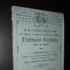 Catálogos publicitarios: CATALOGO ERDMANN KIRCHEIS / 1902 / E K MARQUE DE FABRIQUE. Lote 51893062