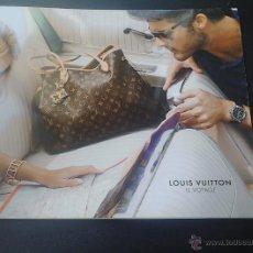 Catálogos publicitarios: CATALOGO LOUIS VUITTON LE VOYAGE. Lote 51927259