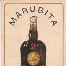 Catálogos publicitarios: MARUBITA / GRAN LICOR DE MESA / JOSÉ CANONY / MATARÓ / EXPEDICIÓN PROVINCIAS Y ULTRAMAR / DÍPTICO. Lote 52029554
