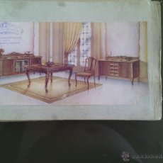 Catálogos publicitarios: CATALOGO MUEBLES AÑOS 50- 27 LAMINAS DE LA SERIE SEXTA DEL DIBUJANTE A.GIMENEZ DE VALECIA. Lote 52301792