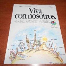 Catálogos publicitarios: PUBLICIDAD EN PRENSA 1993: VIVA AIR GRUPO IBERIA. Lote 52420652