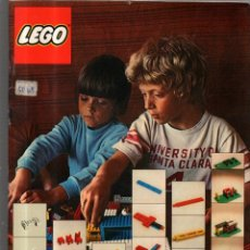 Catálogos publicitarios: CATALOGO PUBLICITARIO DE LEGO. JUGUETES. AÑO 1973.. Lote 52830869
