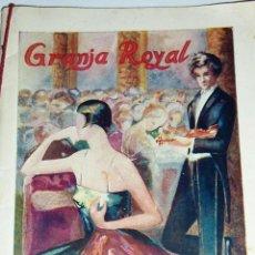 Catálogos publicitarios: CATALOGO FOLLETO SALON DORE PROGRAMA CONCIERTOS QUINTETO TOLDRA PRECIOSA PUBLICIDAD AÑOS 30 ?. Lote 52972904