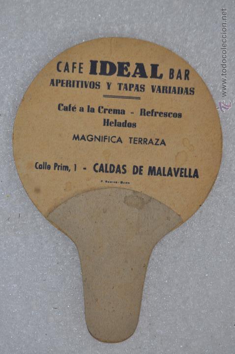 Catálogos publicitarios: ANTIGUO PAY-PAY CON PUBLICIDAD DEL CAFE BAR IDEAL (CALDAS DE MALAVELLA, Girona) - Foto 2 - 53059898