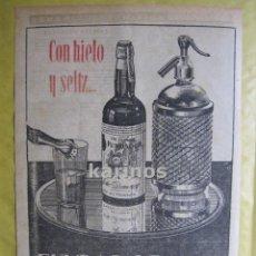 Catálogos publicitarios: 1952 PUBLICIDAD FUNDADOR PRENSA RA. Lote 53115238