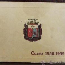 Catálogos publicitarios: COLEGIO SAN ESTASNISLAO MIRAFLORES DEL PALO MALAGA CATALOGO 1958-59 ALUMNOS . Lote 53160147