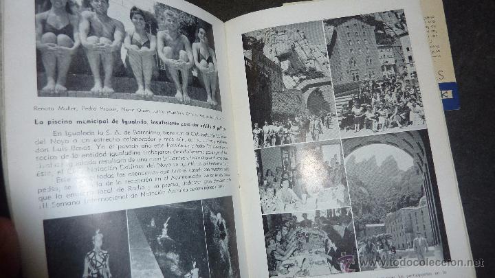 Catálogos publicitarios: catalogo IV semana internacional saltos y ballet acuatico 1955 sociedad atletica barcelona natacion - Foto 2 - 53192050