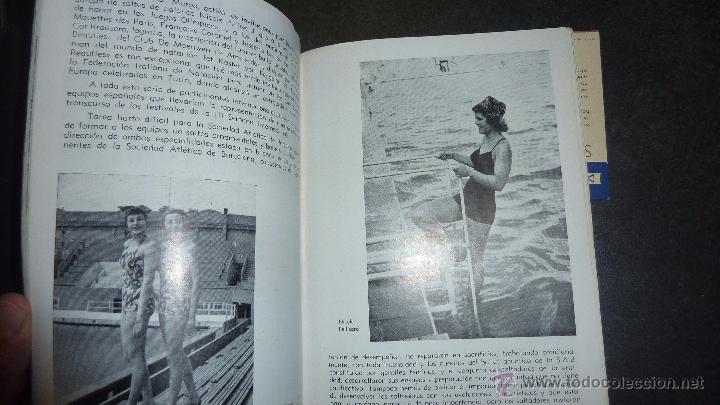 Catálogos publicitarios: catalogo IV semana internacional saltos y ballet acuatico 1955 sociedad atletica barcelona natacion - Foto 3 - 53192050