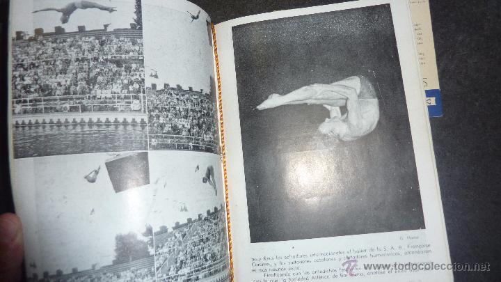 Catálogos publicitarios: catalogo IV semana internacional saltos y ballet acuatico 1955 sociedad atletica barcelona natacion - Foto 4 - 53192050