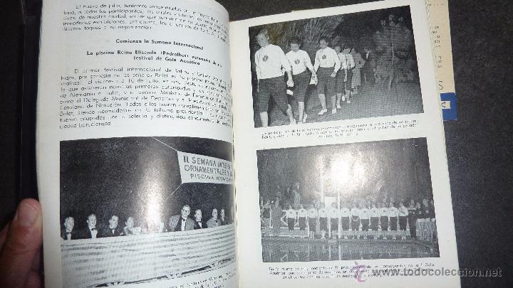 Catálogos publicitarios: catalogo IV semana internacional saltos y ballet acuatico 1955 sociedad atletica barcelona natacion - Foto 5 - 53192050