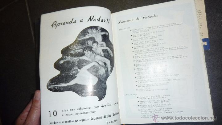 Catálogos publicitarios: catalogo IV semana internacional saltos y ballet acuatico 1955 sociedad atletica barcelona natacion - Foto 6 - 53192050