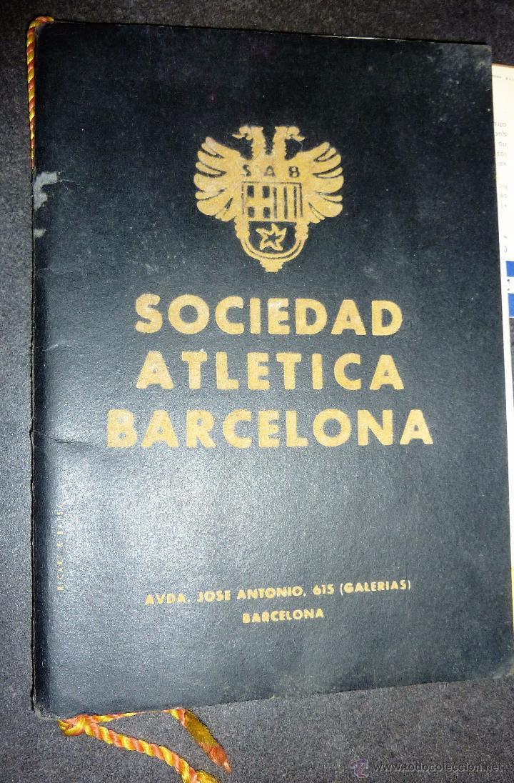 Catálogos publicitarios: catalogo IV semana internacional saltos y ballet acuatico 1955 sociedad atletica barcelona natacion - Foto 8 - 53192050