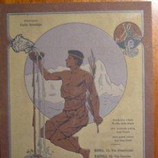 Catálogos publicitarios: PRECIOSA PUBLICIDAD DE CH. LORILLEUX & CIA - MILANO Y DE DITTA NEBIOLO & COMP.- CARTULINA 18X24 CM. Lote 53199840