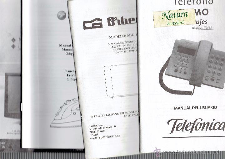 manual instrucciones tel fono domo microondas comprar cat logos rh todocoleccion net Una De Gato Una De Gato