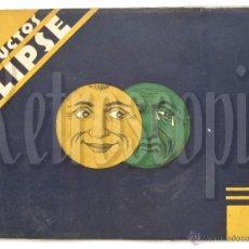 Catálogos publicitarios: ÚNICO Y PRECIOSO CATÁLOGO DE PRODUCTOS (CREMA) ECLIPSE CIRAGES FRANÇAIS SANTANDER AÑOS 20 - 30. Lote 53237026
