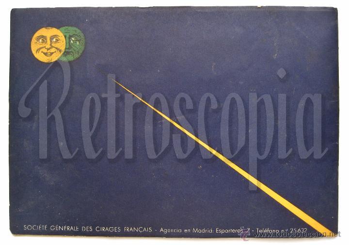 Catálogos publicitarios: ÚNICO Y PRECIOSO CATÁLOGO DE PRODUCTOS (CREMA) ECLIPSE CIRAGES FRANÇAIS SANTANDER AÑOS 20 - 30 - Foto 6 - 53237026